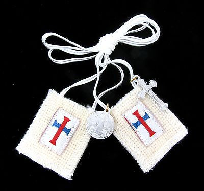 Image result for The White Scapular of the Most Blessed Trinity