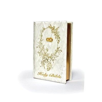 Pearl Design Wedding Bible